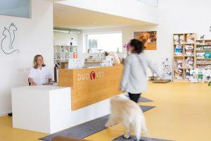 Tierarztpraxis Duovet - Empfangsbereich